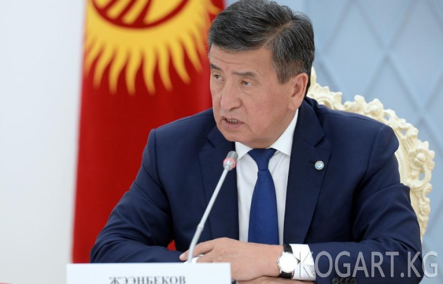 Президент: Атамбаев мыйзам талаптарын одоно бузду