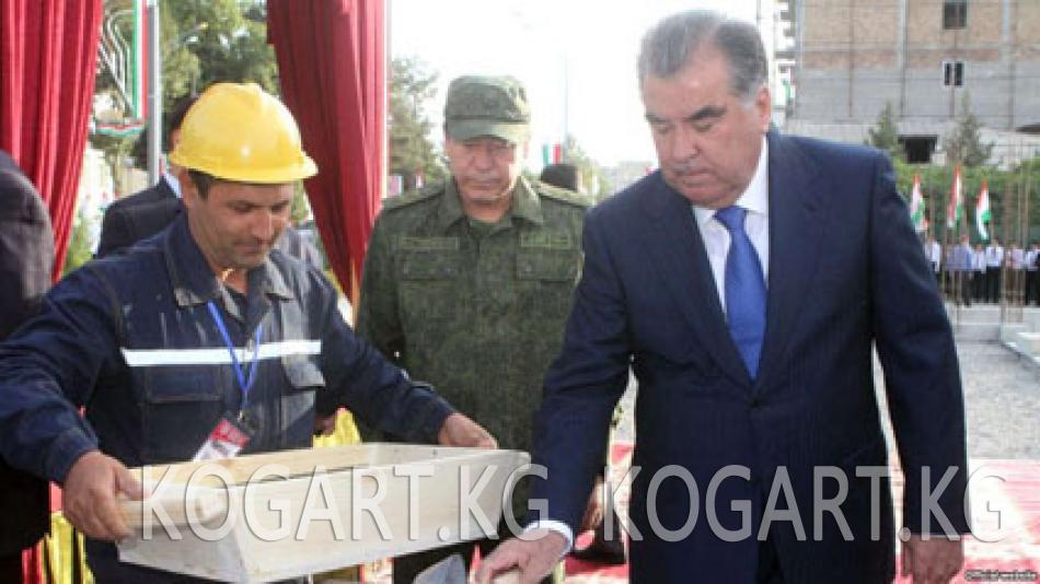 Тажик президенти Рахмонго кол салууну көздөгөндөр соттолду
