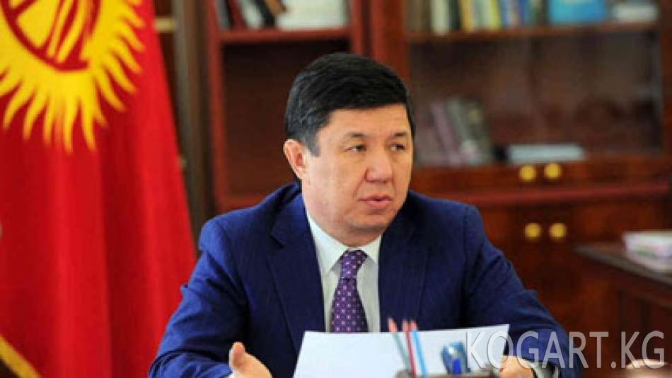 Сариев Конституцияны өзгөртүү долбоору боюнча кеңешме орган түзүүгө...