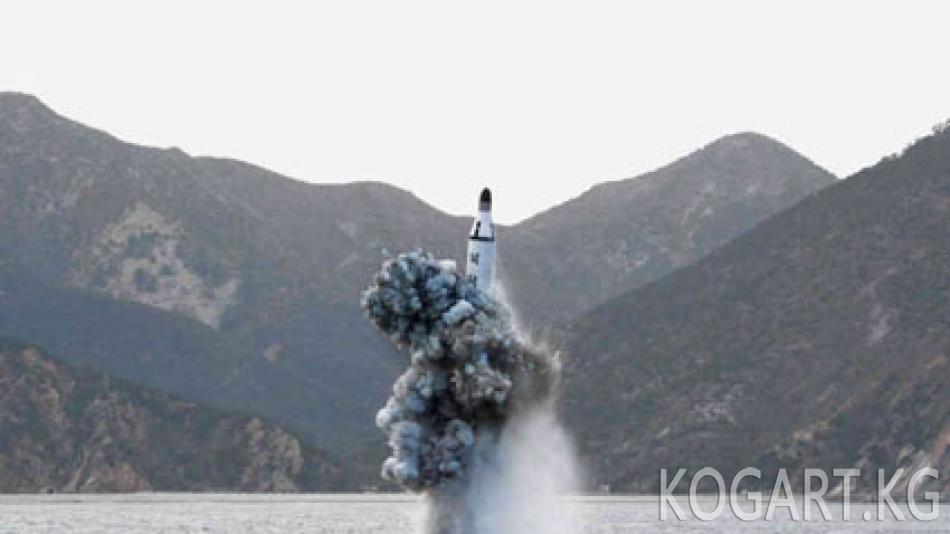 Түндүк Корея Жапон деңизи тарапка үч баллистикалык ракета учурду