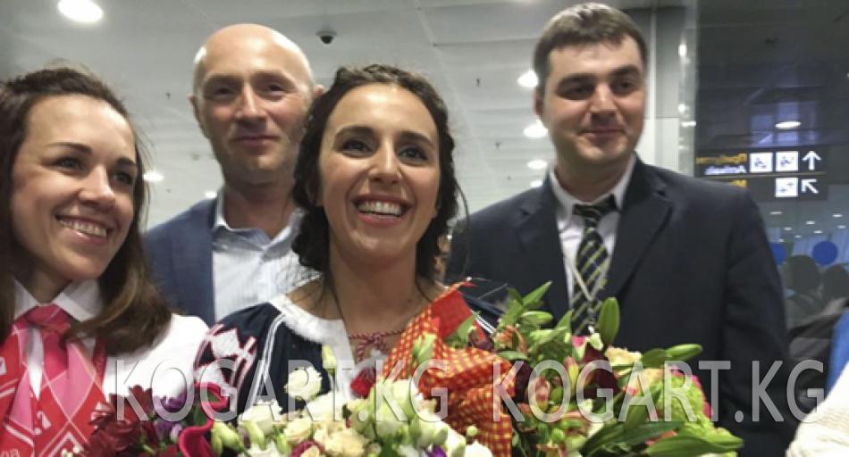 """Жамала «Евровидение-2016"""" сынагын жеңип, Украинага кайтты"""