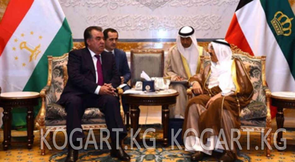 Тажикстан Кувейт инвестициясынан үмүт артат