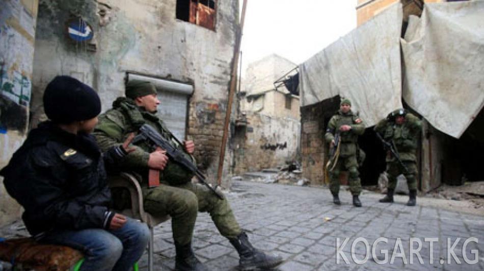 Орусия Коргоо министрлиги Сирияда курман болгон аскерлер тууралуу...