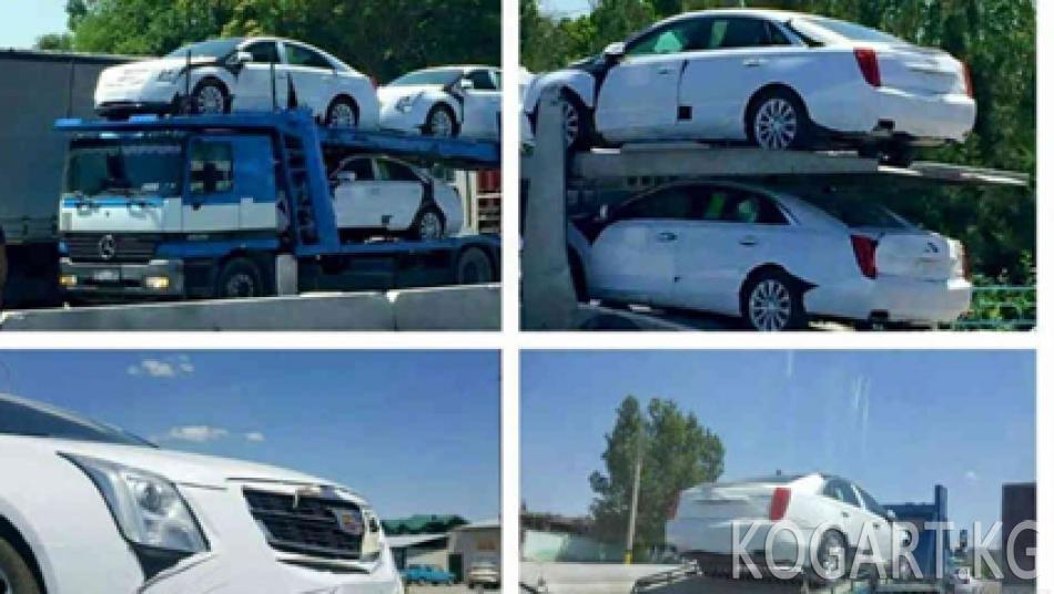 Өзбекстан ШКУ саммити үчүн 50 даана Cadillac унаасын сатып алды