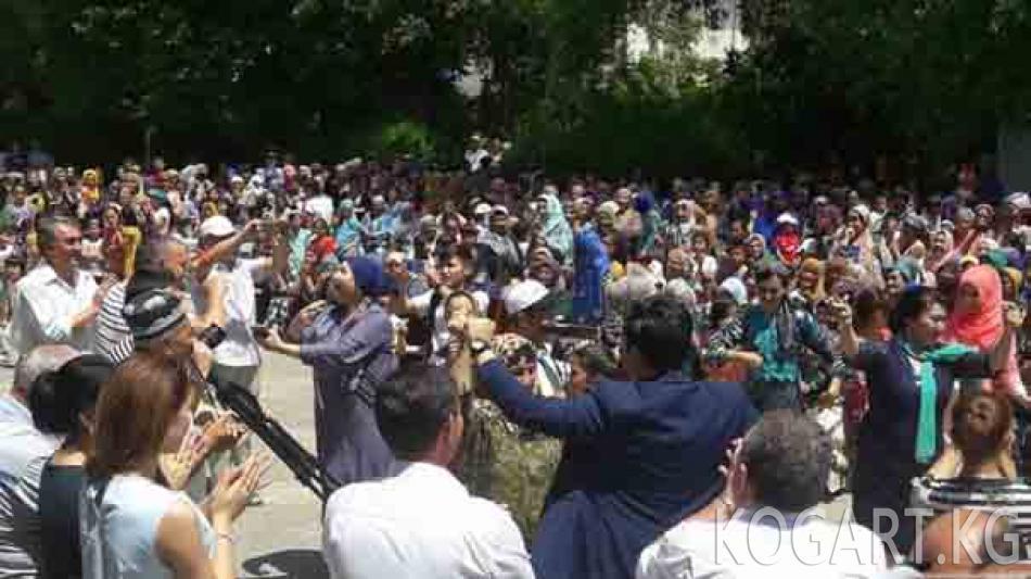Ошто кыргыз-өзбек достугун даңазалаган концерт өттү
