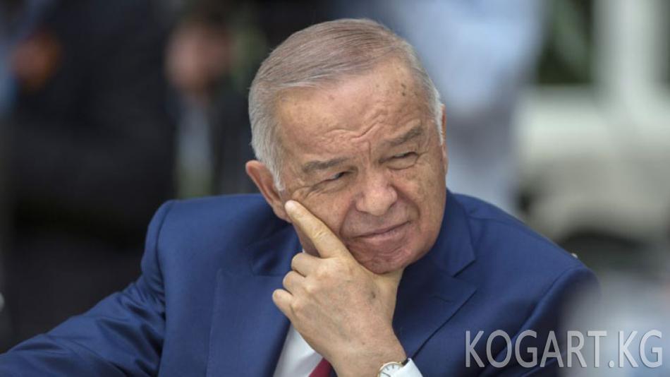 Өзбекстан телеканалында биринчи жолу Каримовдун саясаты сынга алынды