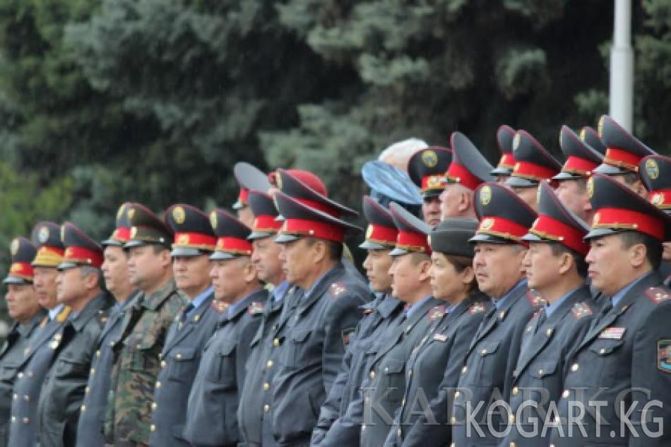 Кыргыз милициясынын тарыхы