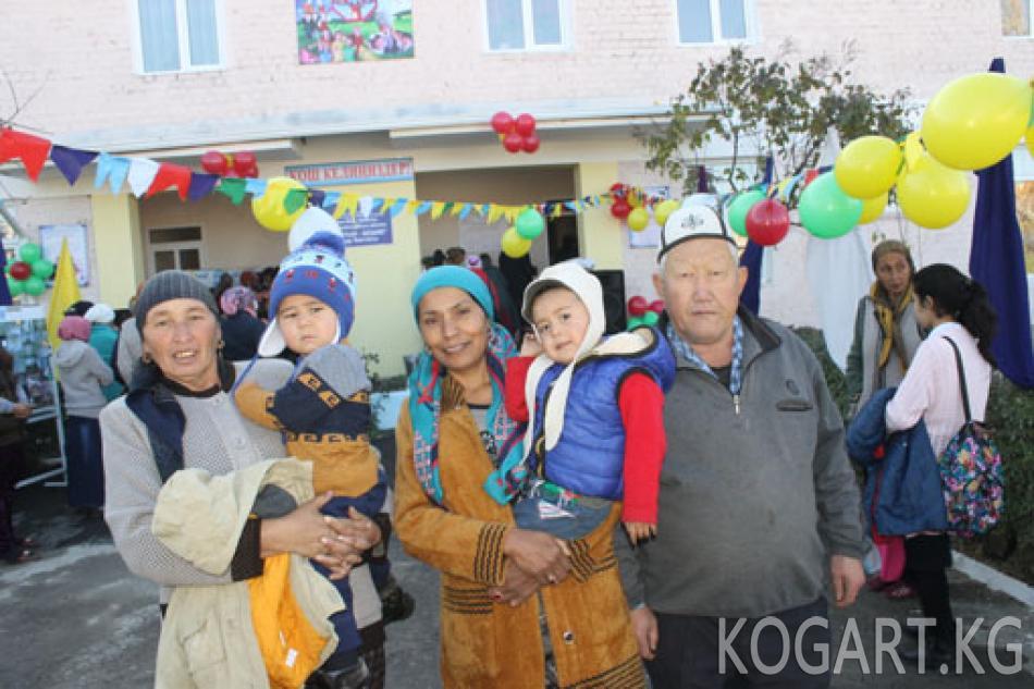 Ноокен районунун Масы айылында 340 орундуу балдар бакчасы ишке берилди
