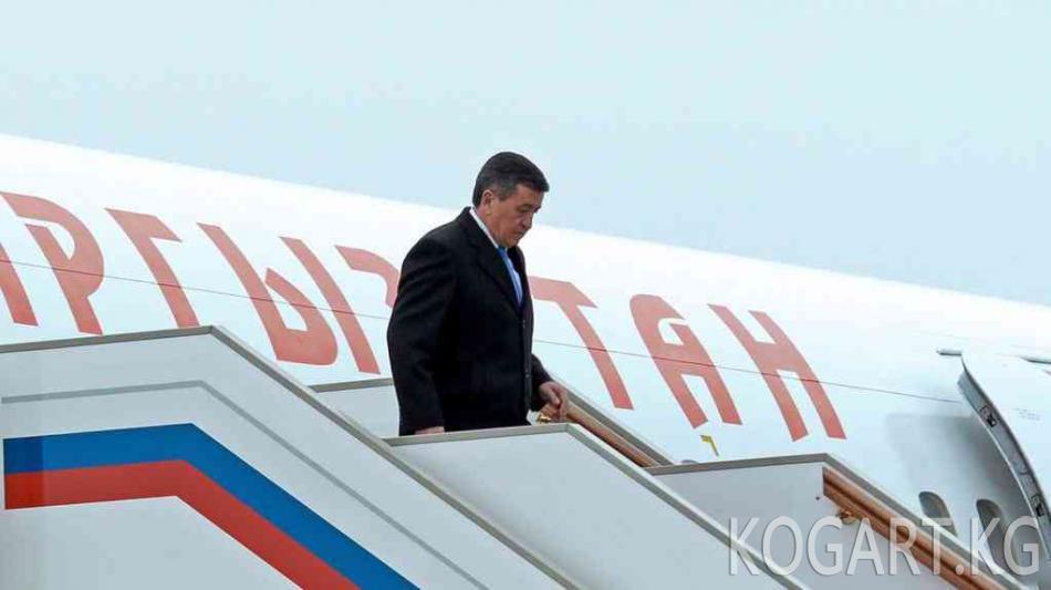 Сооронбай Жээнбеков Өзбекстанга расмий сапар менен барат