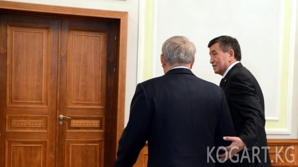 Назарбаев: Мен Кыргызстан тууралуу жаман сөз айткан жокмун
