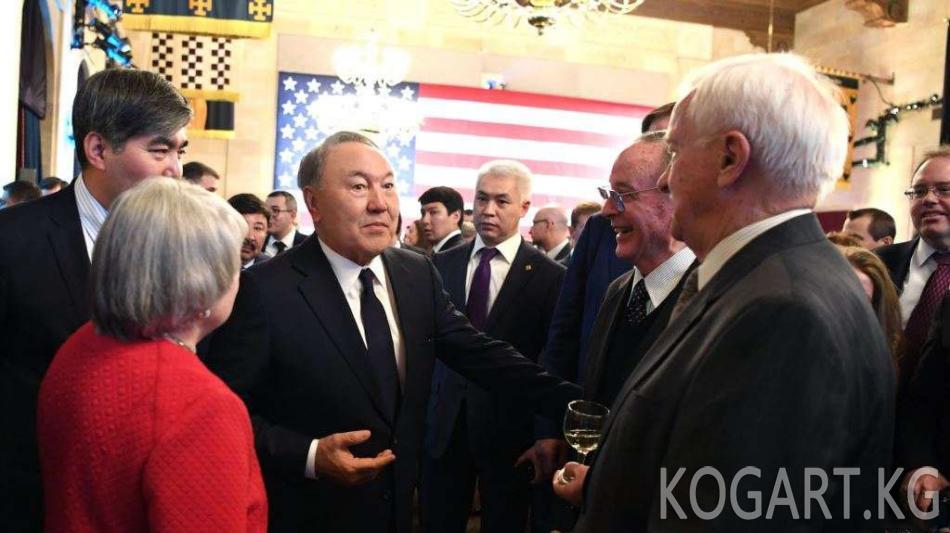 Назарбаевдин АКШ сапарында миллиарддаган долларлык келишимдерге кол коюлду