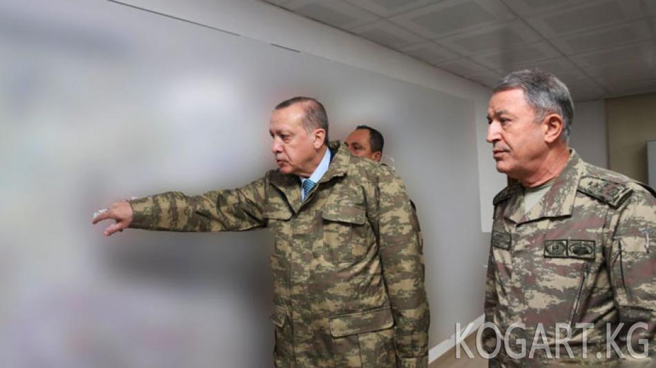 Эрдоган: Түркия Сирия менен чек арасын террорчулардан тазалайт