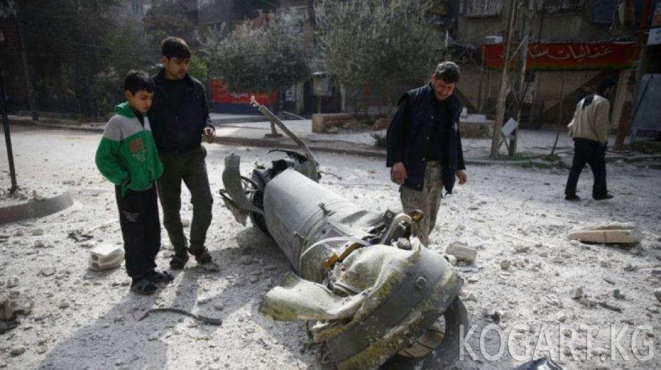 Сирия армиясы БУУнун жарашуу резолюциясын сактаган жок
