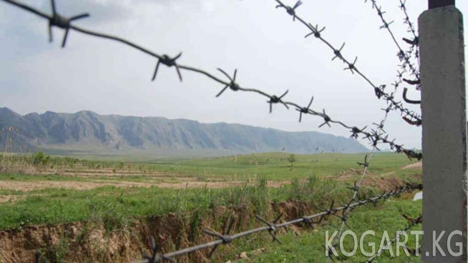 Кыргыз-тажик чек арасында мыйзамсыз ташылган 24 тонна күйүүчү май кармалды