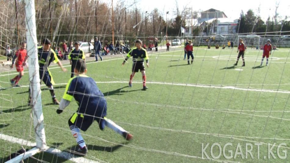 Жалал-Абадда балдар арасында кичи футбол боюнча мелдеш болуп өттү