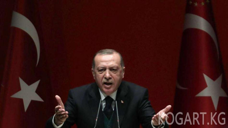 Эрдоган Нетаньяхуну «баскынчы» жана «террорчу» деп атады