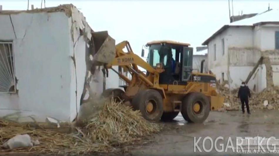 Өзбекстандагы кыргыз айылы 45 күндүн ичинде таанылгыс болуп өзгөрдү