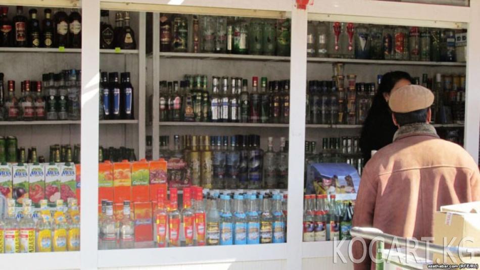 Түркмөнстанда «ден соолук айында» алкогол жана тамеки сатууга тыюу салынган жок