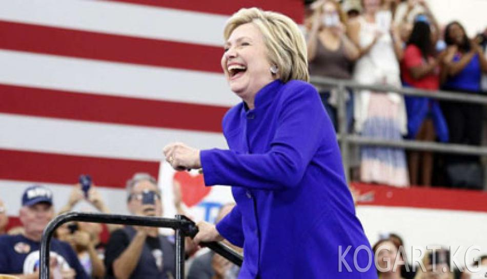Хиллари Клинтон президенттикке талапкер болууга жетиштүү добуш...