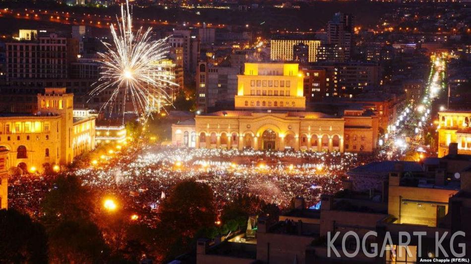 Пашинян: Арменияда жаңы премьер-министр бир жуманын ичинде шайланат