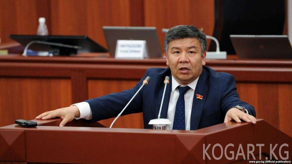 Шыкмаматов: энергомафия өкүлдөрү ЖЭБди модернизациялоодо 100 млн...