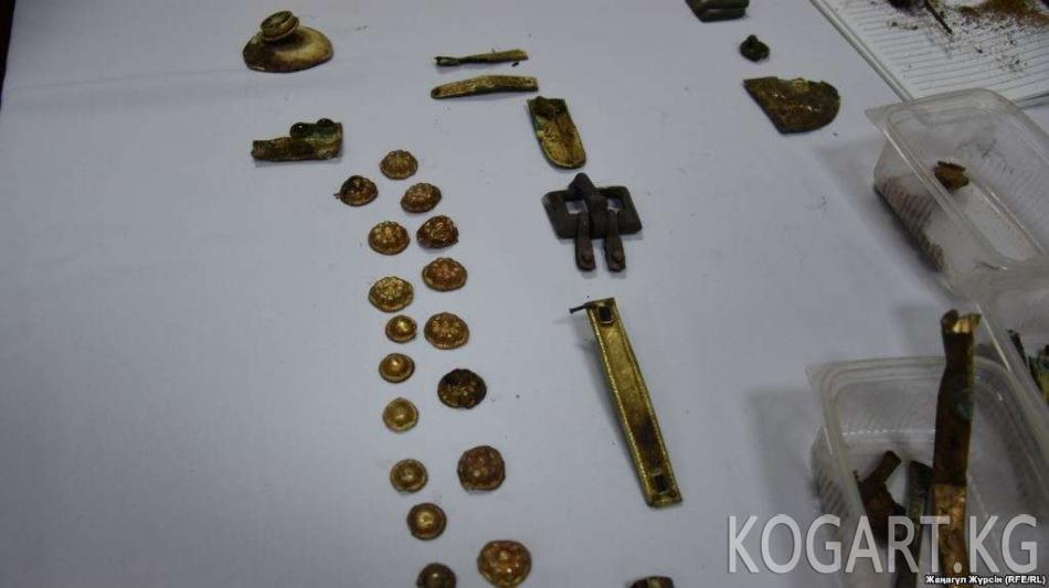 Казакстанда гун дооруна таандык артефакттар табылды