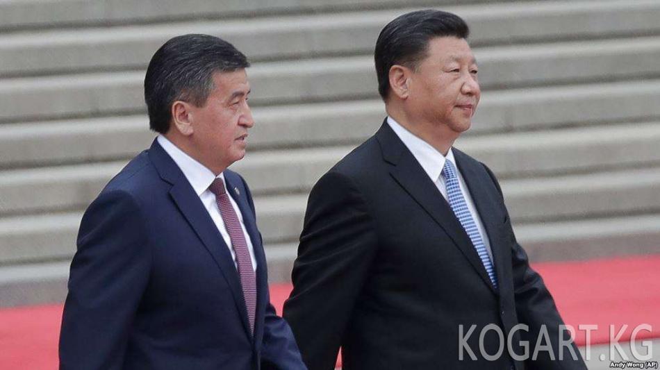 Жээнбеков Кыргызстанда электромобиль чыгаруу боюнча кыргыз-кытай...