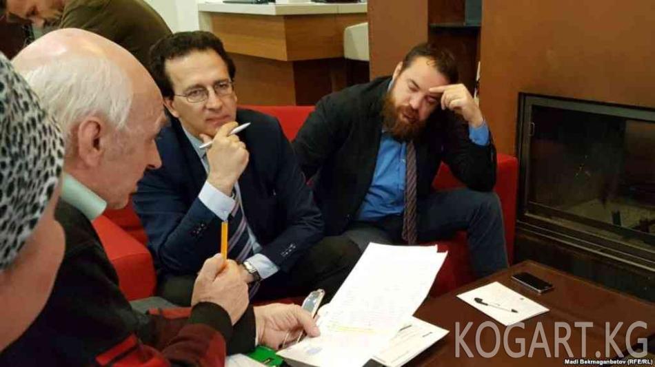 Европалык укук коргоочулар Астанада активисттер менен жолукту