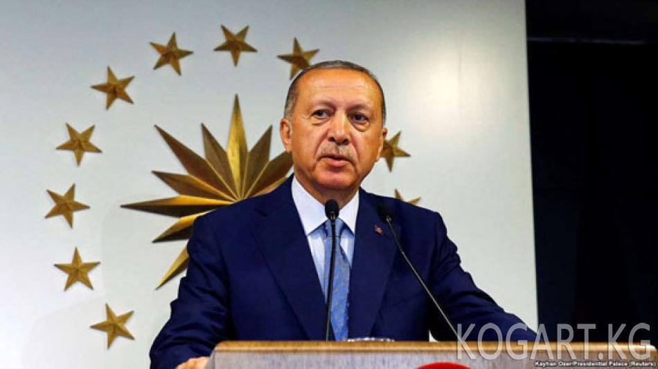 Түркия БШКсы Эрдогандын жеңгенин жарыялады
