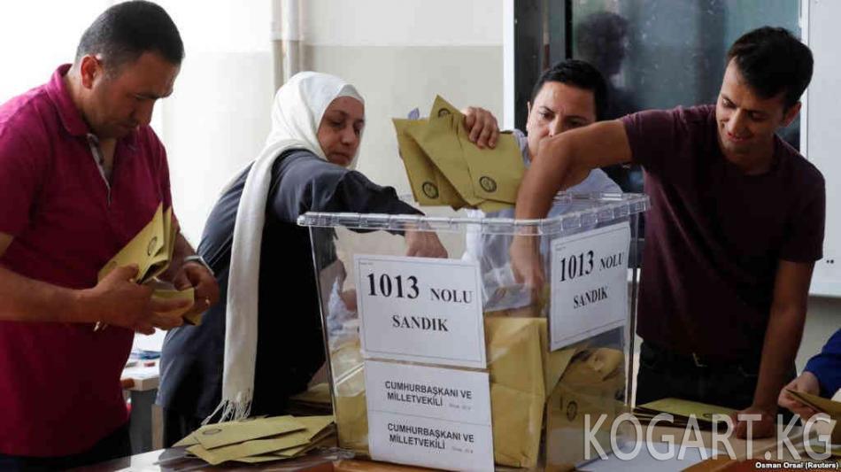 ЕККУ Түркиядагы шайлоодо талапкерлерге бирдей шарт түзүлбөгөнүн билдирди