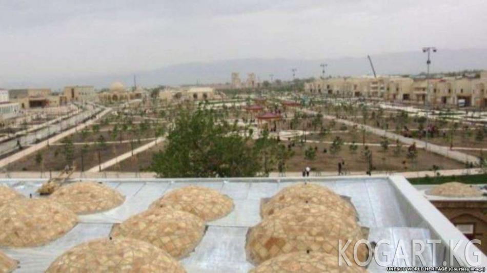 Өзбекстандын Шахрисабз шаары ЮНЕСКОнун дүйнөлүк мурастарынын...