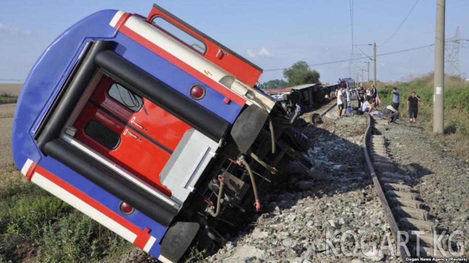 Түркияда поезд кырсыгынан 24 киши өлүп, 70тен ашыгы жаракат алды
