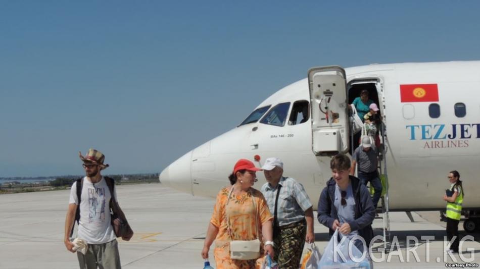 Ташкент-Тамчы аба каттамы токтоп калды