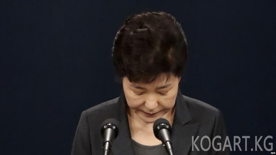 Түштүк Кореянын экс-президентинин камактагы мөөнөтүнө дагы 8 жыл кошулду