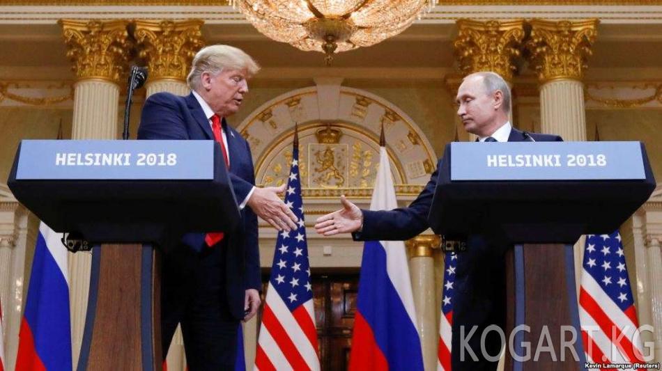 Дональд Трамп: Орусия ноябрда демократтарды колдойт