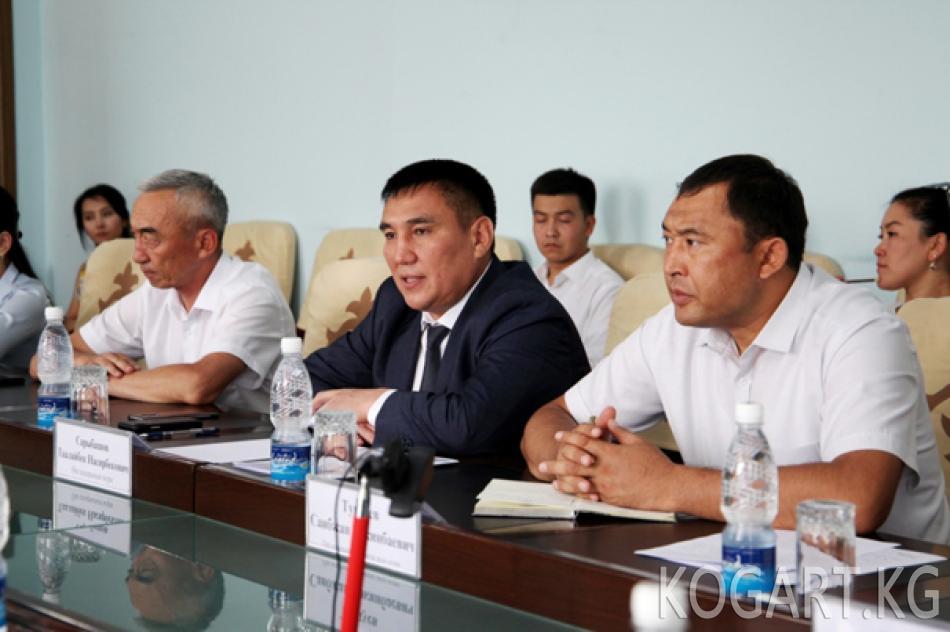 Ош шаарынын мэри Синзян-уйгур автономиялык аймагынан келген...