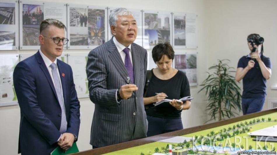 Кыргызстан Данияр Үсөнов боюнча Беларуска нота жөнөттү