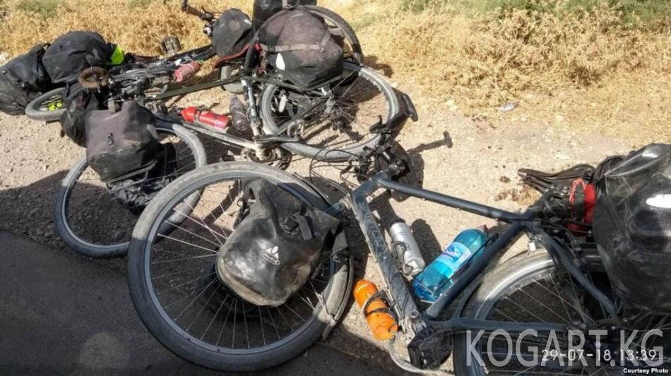 Тажик ИИМи велотуристтерге кол салууга Ислам кайра жаралуу партиясын...
