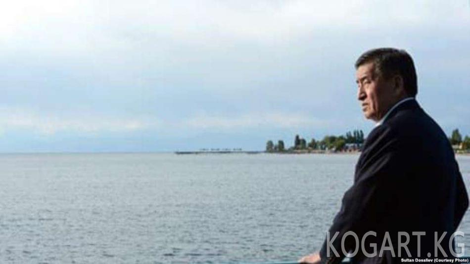 Президент Сооронбай Жээнбеков Түркмөнстанга барат
