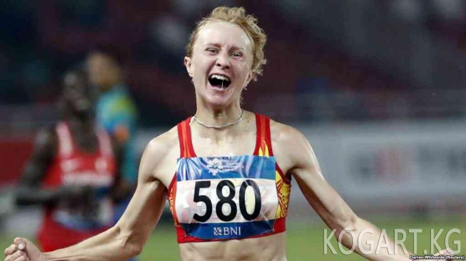 Азиада-2018: Жеңил атлет Дарья Маслова алтын байге алды