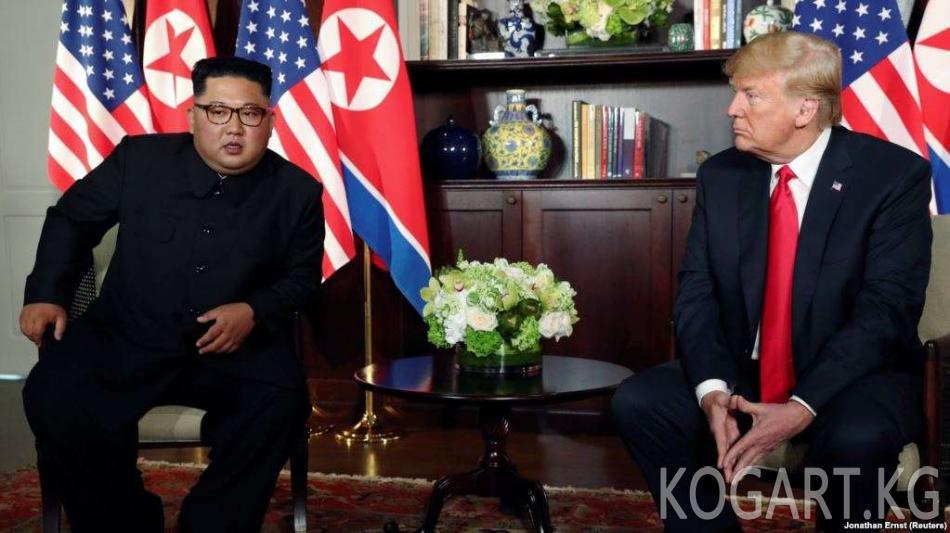 Ким Чен Ын Дональд Трамп менен жолугууга кызыкдар