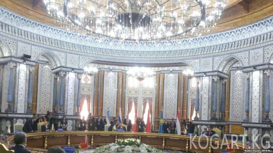 Түркмөн президенти Душанбедеги КМШ саммитине катышпайт