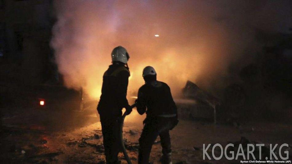 Орусиянын Сириядагы операцияларынан миңдеген адам өлдү