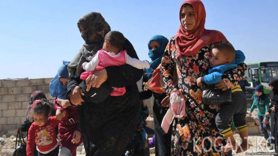 Сирия оппозициясы Идлибден кеткендиги тууралуу маалыматты четке...