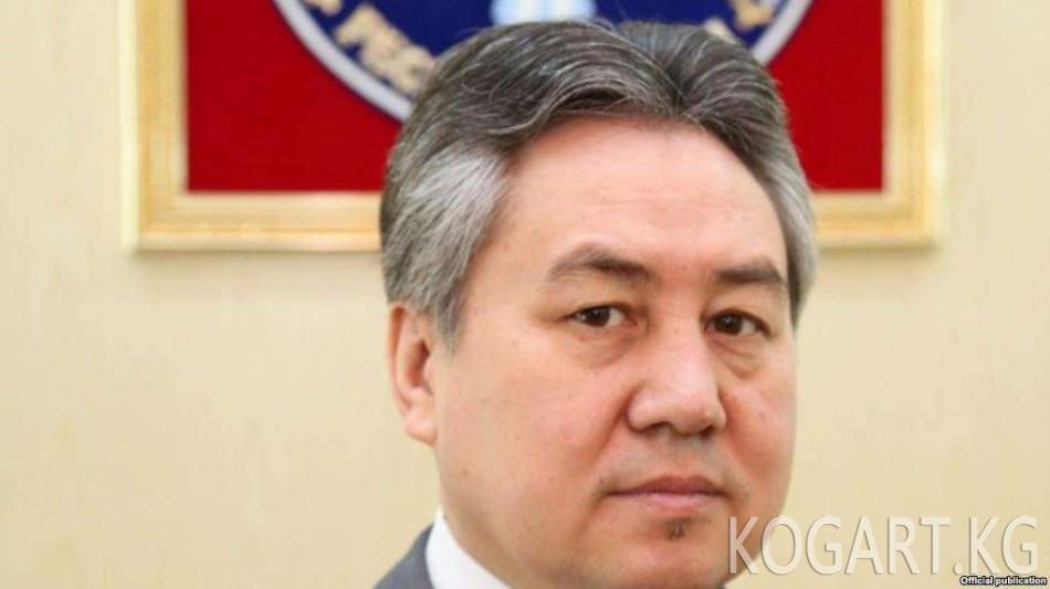 Жээнбек Кулубаев Кыргызстандын Казакстандагы элчиси болуп дайындалды