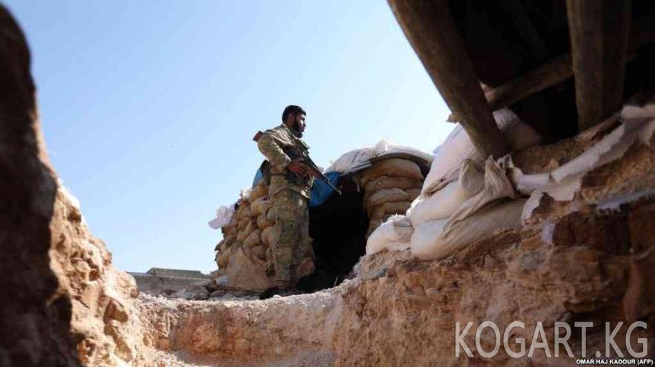 Түркия Идлибде деэскалация аймагы түзүлгөнүн билдирди