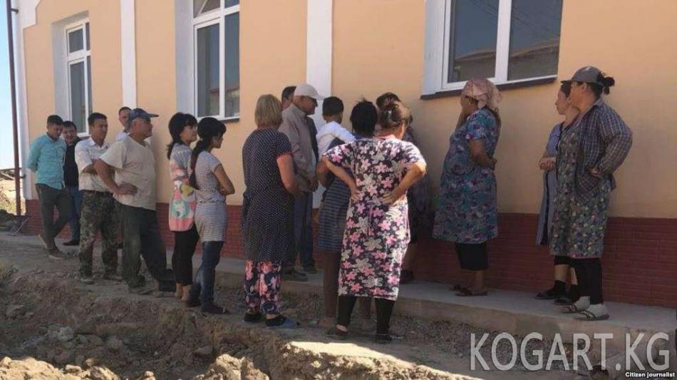 Ташкентте Мирзиеевдин жаңы резиденциясынын жолу үчүн үйлөр бузулууда