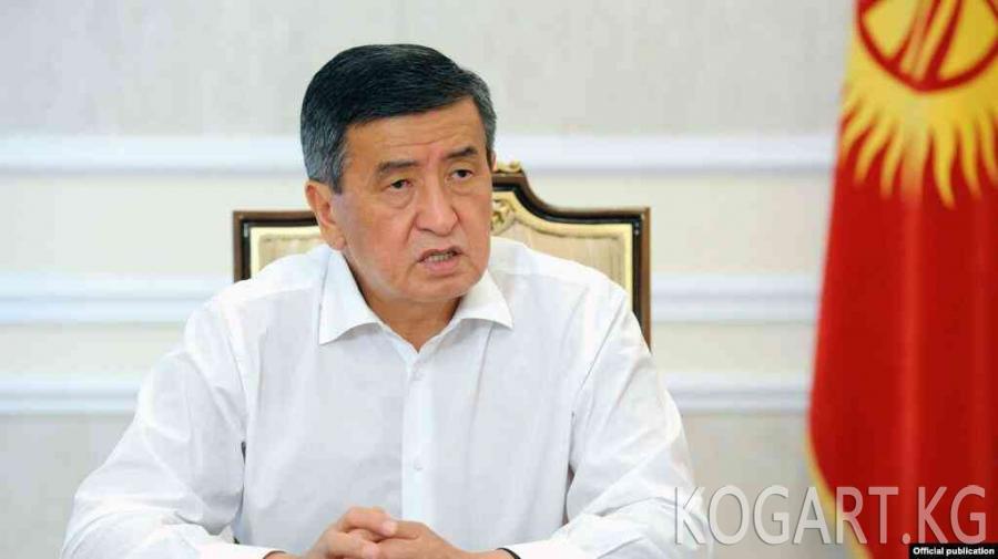 Сооронбай Жээнбеков: Мен легитимдүү президентмин