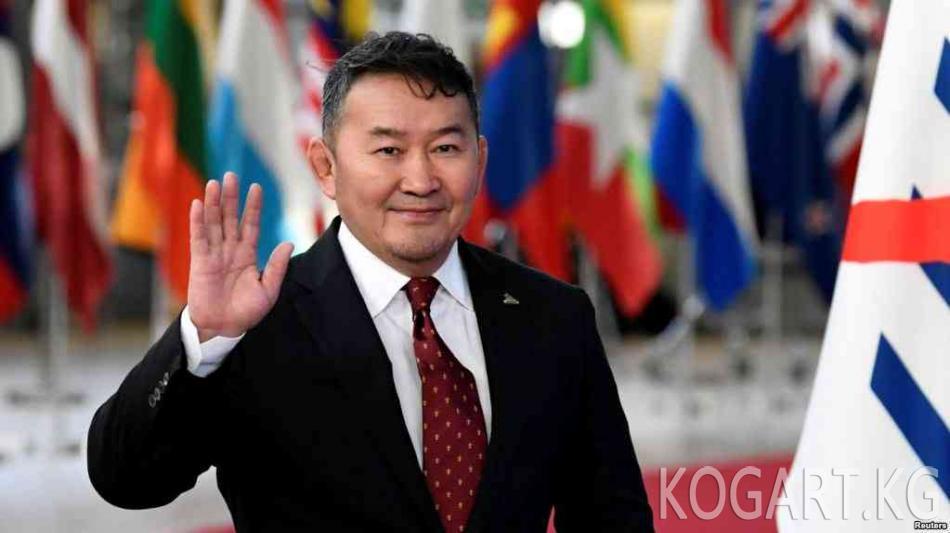 Монголиянын президенти парламент таркабаса ачкачылык жарыялай...