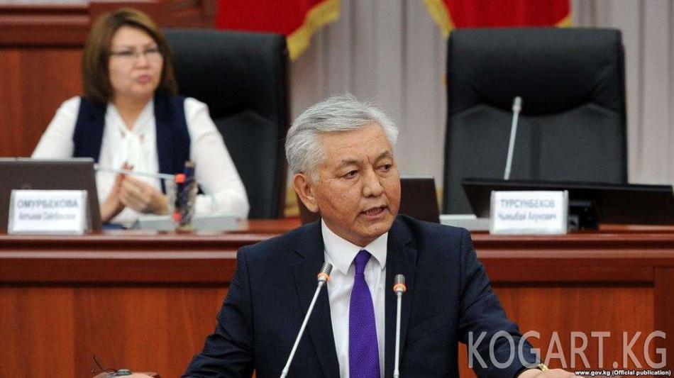 Социал-демократтар Иса Өмүркуловду партиядан чыгарды
